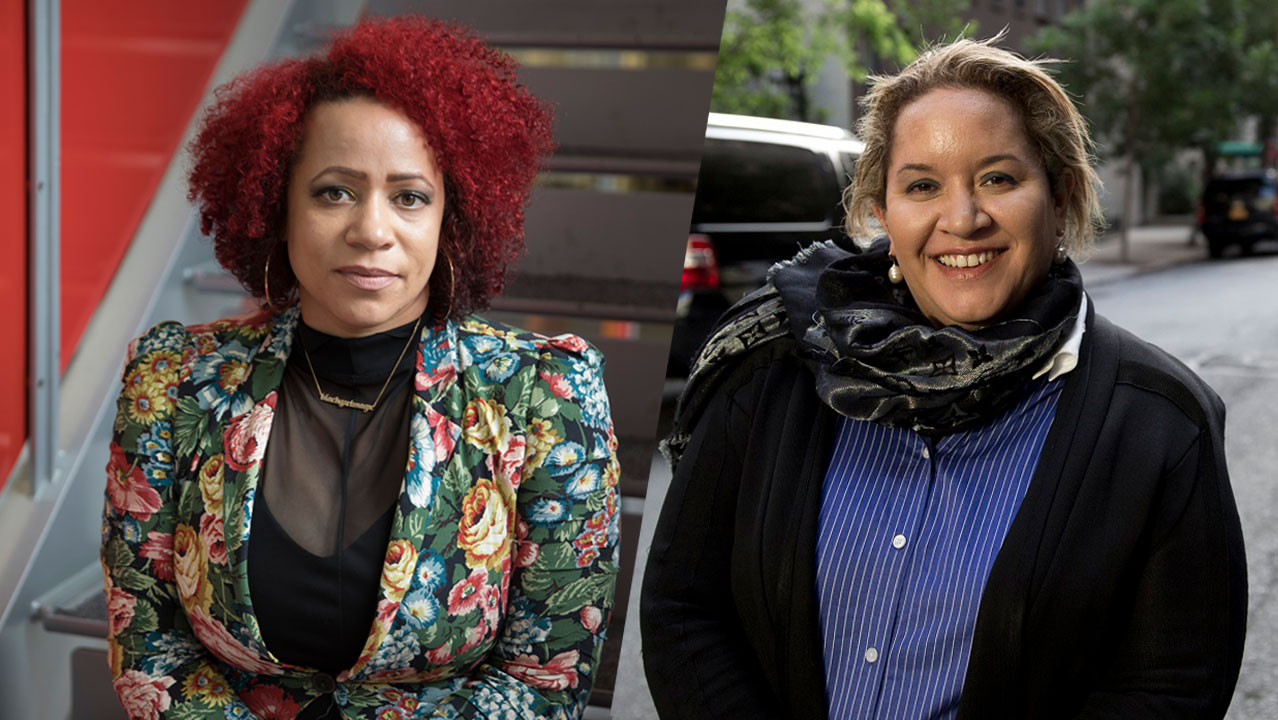 Nikole Hannah-Jones and Megan Davis in conversation with Damien Cave
