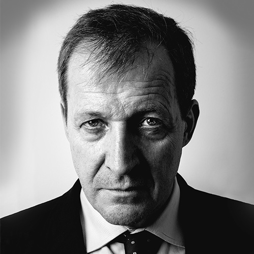 Alastair Campbell portrait